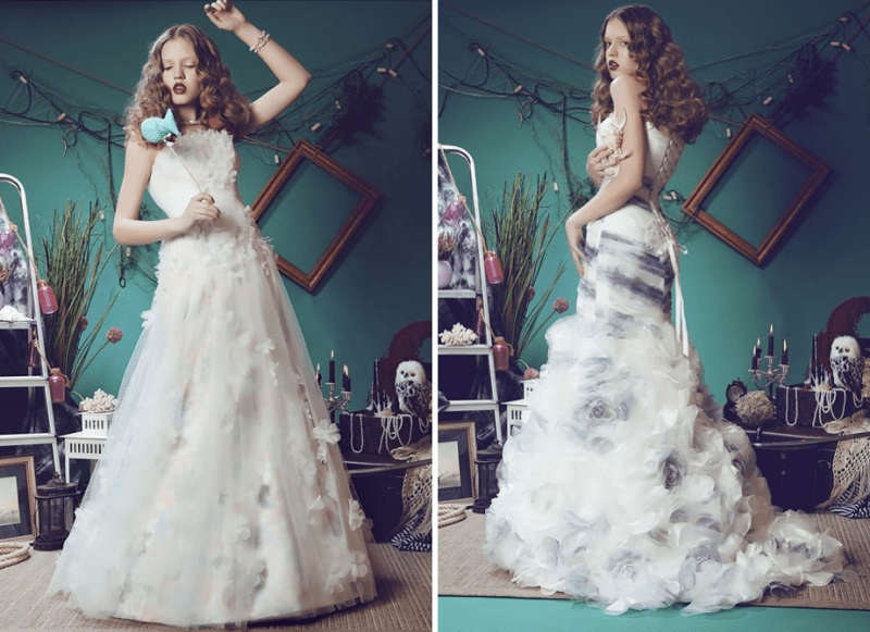 Alice In Wonderland Wedding Dresses Collection - Weddingomania