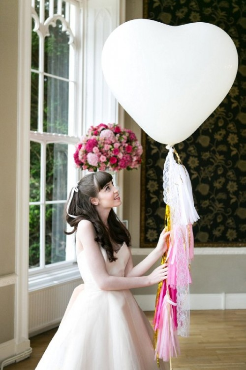 All About Pink Girly Bridal Inspirational Shoot