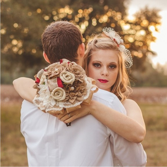 Picture Of Alternative Bouquets For Non Traditional Brides