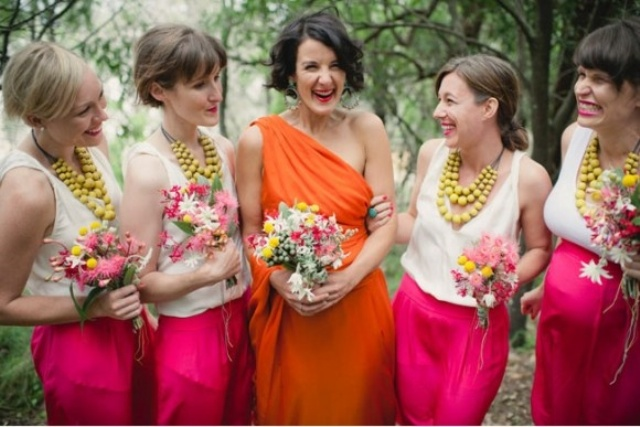 Picture Of alternative outfit ideas for bridesmaids  9