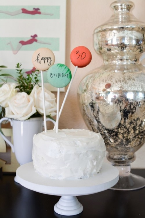 Amazing DIY Macarons Cake Topper With Edible Ink
