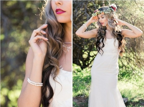 Amazing Marsala Desert Princess Bridal Shoot