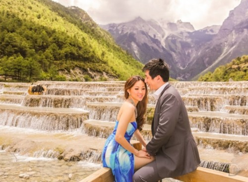 Amazing Out Of The Country Engagement Session