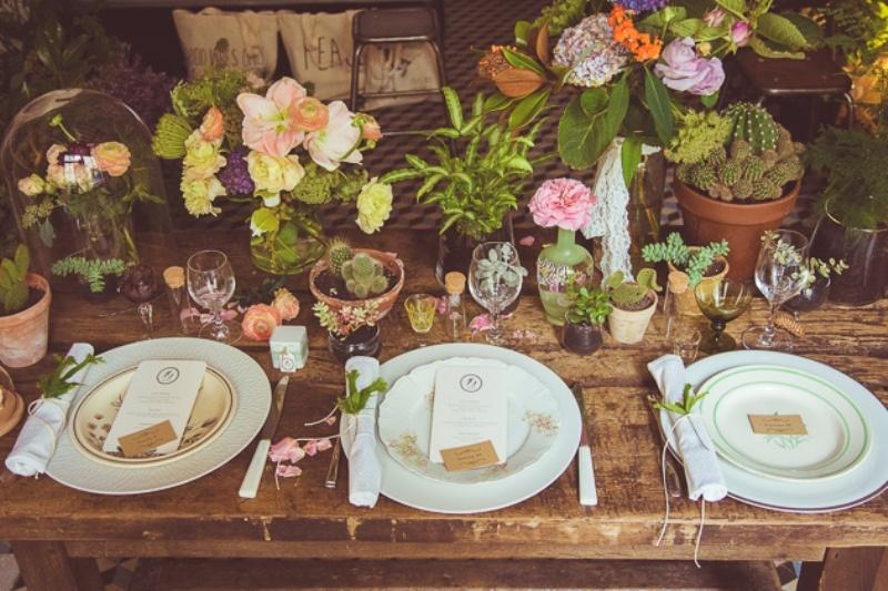 Picture Of amazingly eclectic boho folk wedding inspiration  10