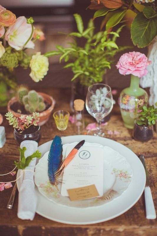 Picture Of amazingly eclectic boho folk wedding inspiration  11
