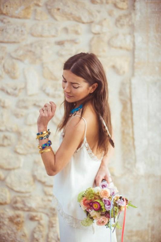 Picture Of amazingly eclectic boho folk wedding inspiration  19