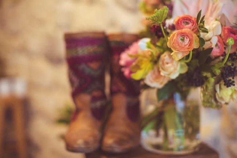 Picture Of amazingly eclectic boho folk wedding inspiration  21