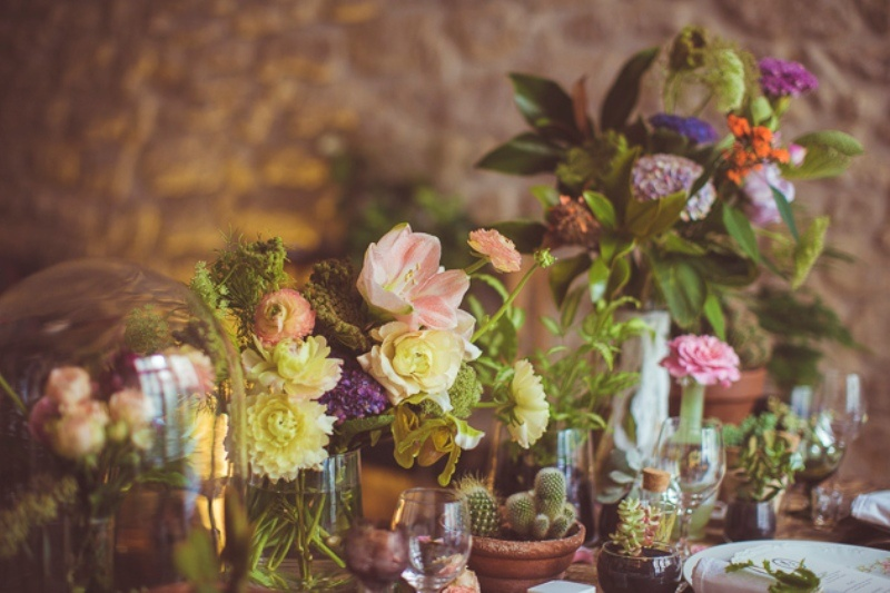 Picture Of amazingly eclectic boho folk wedding inspiration  3