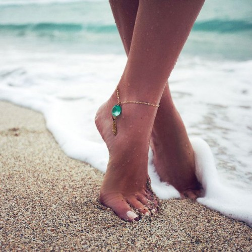 Ankle Beach Adornments For Barefoot Brides