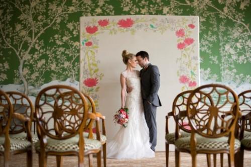Asian Botanical Garden Wedding Inspiration With Modern Chinese Motifs