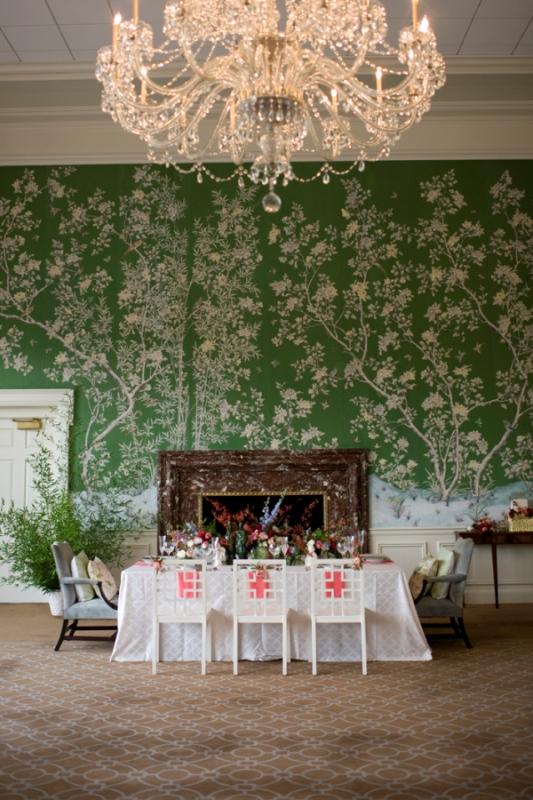 Of asian botanical garden wedding inspiration with modern chinese ...