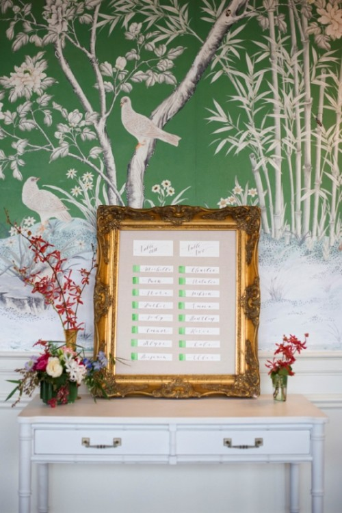 Asian Botanical Garden Wedding Inspiration With Modern Chinese Motifs