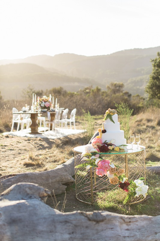 Picture Of astonishing glam meets boho wedding in jewel tones  17