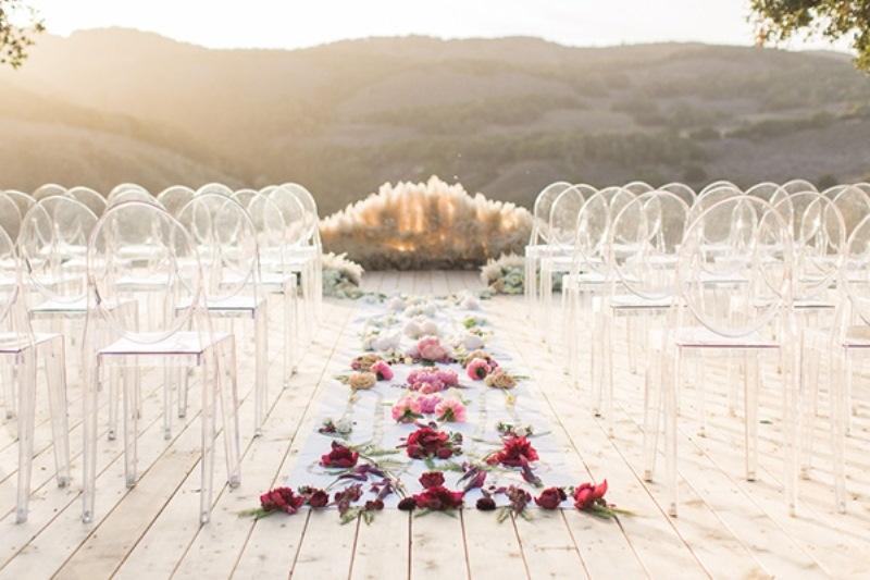 Picture Of astonishing glam meets boho wedding in jewel tones  22