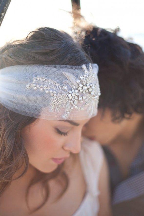 Awesome Boho Chic Bridal Headpieces