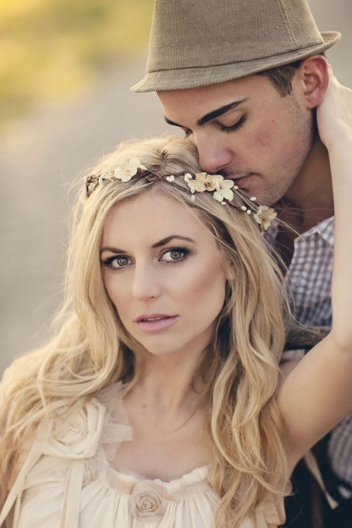 Awesome Boho Chic Bridal Headpieces
