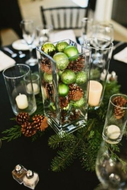 50 Awesome Christmas Wedding Centerpieces – Edible And Not Only ...