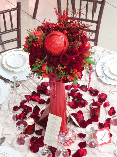 50 Awesome Christmas Wedding Centerpieces – Edible And Not Only