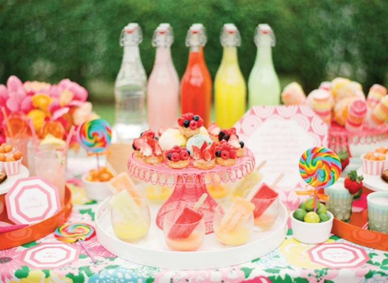 Picture Of Awesome Citrus Orange And Pink Wedding Ideas