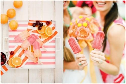 Awesome Citrus Orange And Pink Wedding Ideas