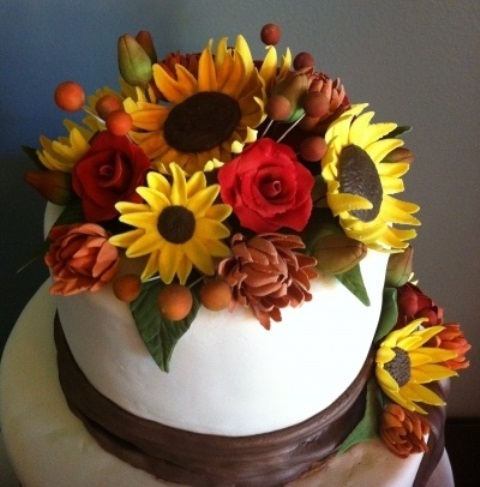 autumn wedding cake decorating ideas 64 awesome fall wedding cakes weddingomania 10901