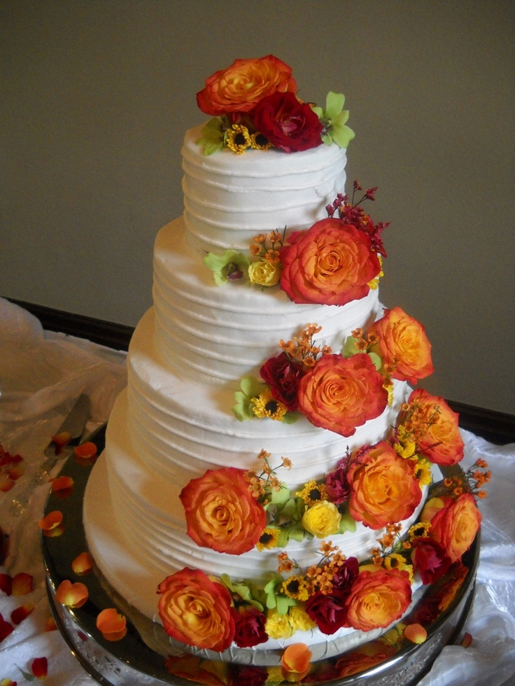 Fall Wedding Cakes.Cheap Wedding Cakes For The Holiday Images Fall Wedding Cakes