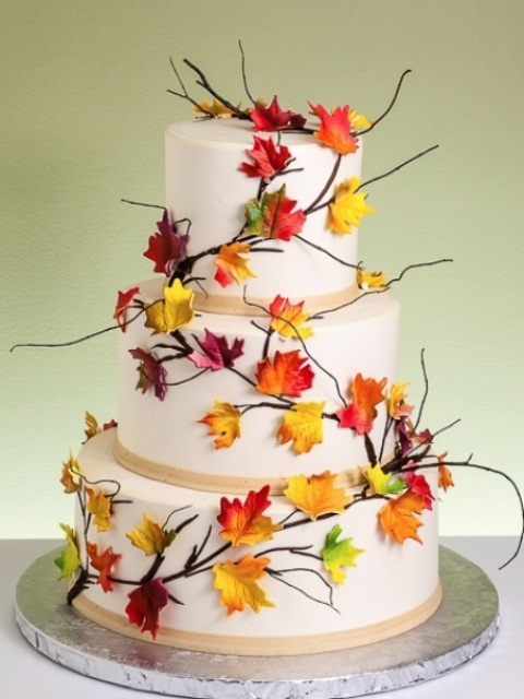 autumn wedding cake images picture of awesome fall wedding cakes 10905