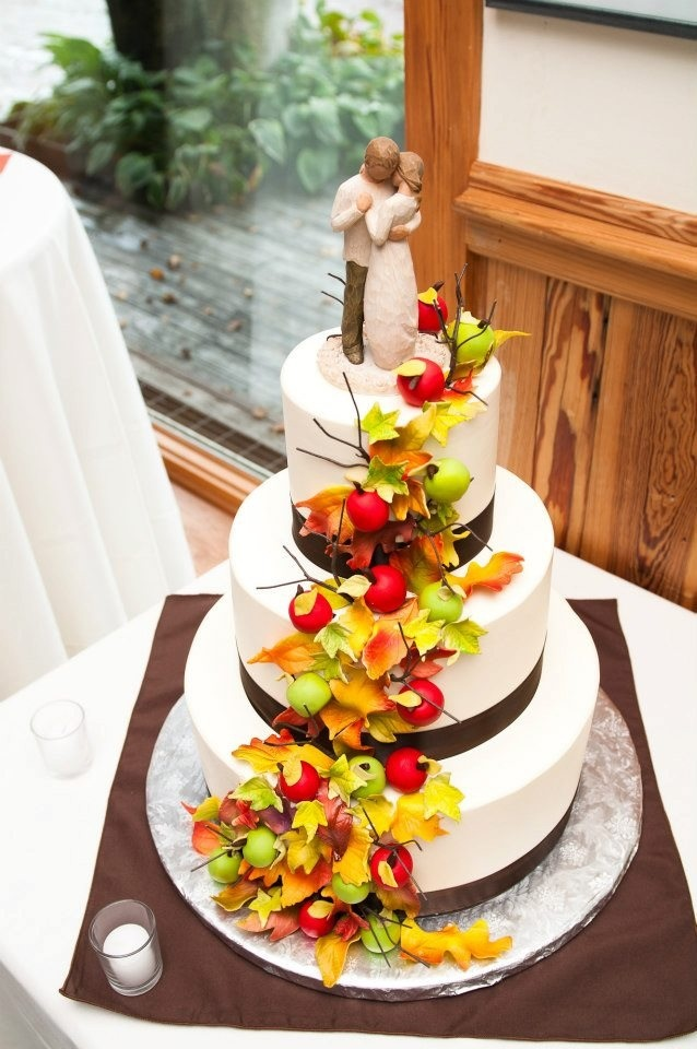 autumn wedding cake decorating ideas picture of awesome fall wedding cakes 10901