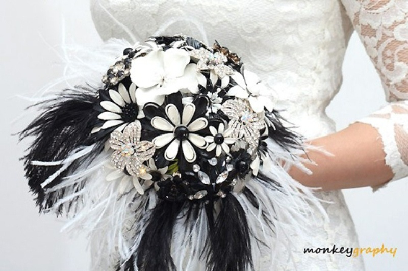 Picture of awesome ideas for a black and white wedding mightylinksfo
