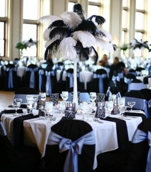 45 awesome ideas for a black and white wedding   weddingomania