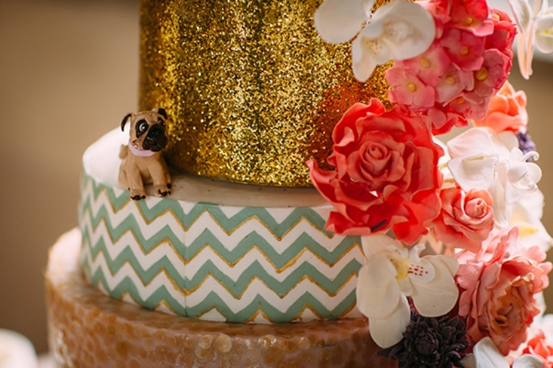 Of awesome mint green coral and sparkly gold wedding inspiration 37