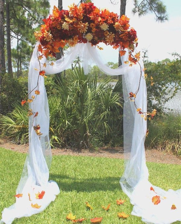 awesome outdoor fall wedding decor ideas - Wedding Designs Ideas