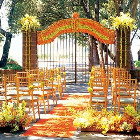 Outdoor Fall Wedding Decorations