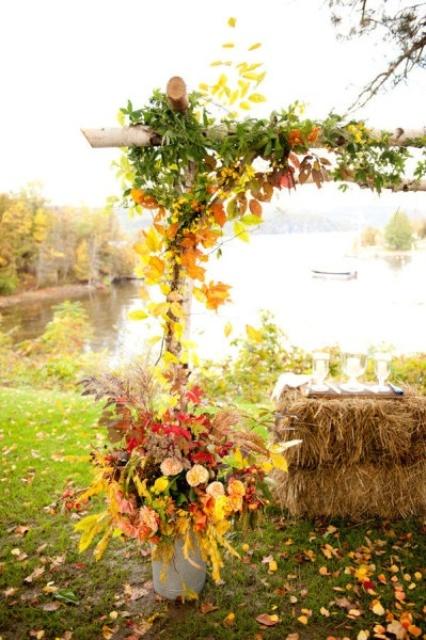 Quick Backyard Wedding Ideas : elegant christmas wedding centerpieces christmas lights branches and
