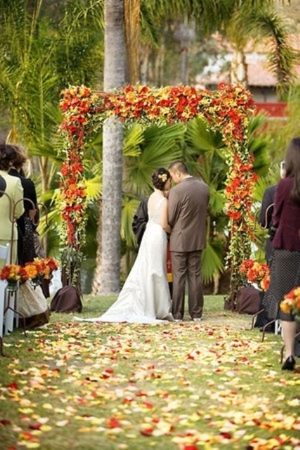 Fall Outdoor Wedding Decorations Fall Wedding Decoration Ideas