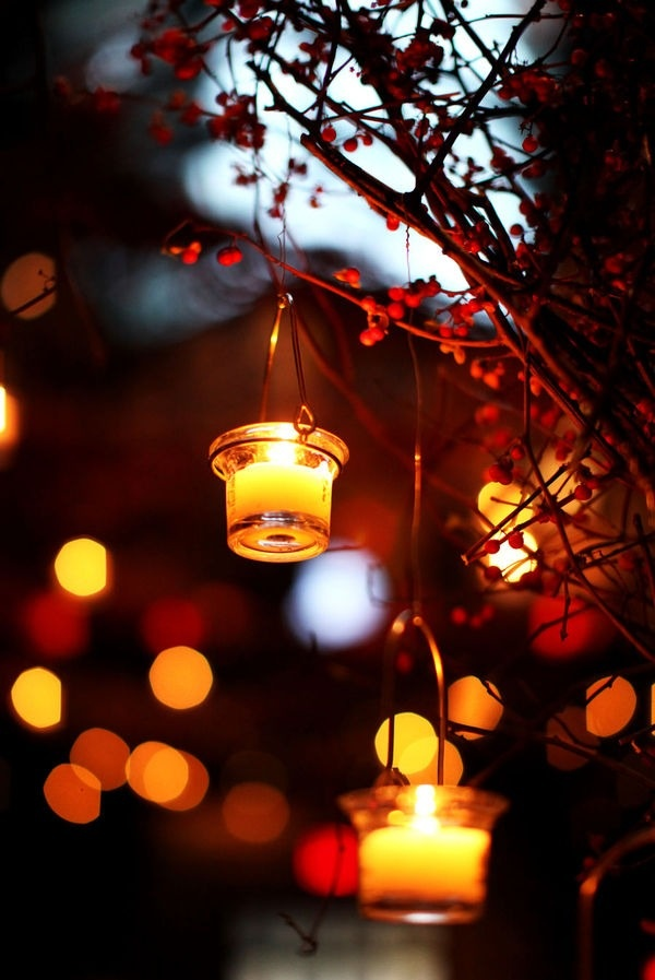 Modern Outdoor Lightning As Illuminating Decoration For Awesome Exterior: Picture Of Awesome Outdoor Fall Wedding Decor Ideas