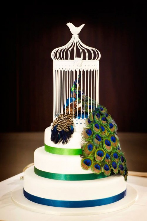 Awesome Peacock Wedding Ideas