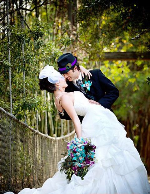 37 Awesome Peacock Wedding Ideas
