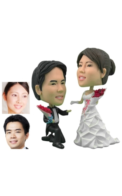 Awesome Personalized Wedding Cake Toppers