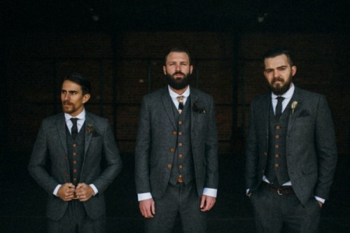 Awesome Rustic And Vintage Groom's Style Inspirational Shoot