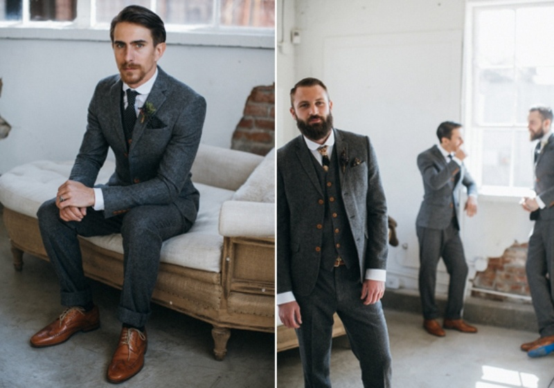Picture Of Awesome Rustic And Vintage Grooms Style Inspirational Shoot