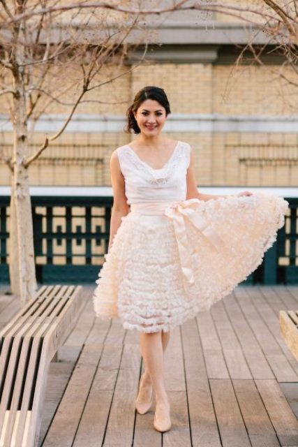 The Hottest Wedding Trend: 48 Awesome Short Wedding Dresses ...