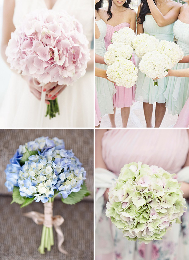 Picture Of awesome ways to incorporate hydrangeas into your wedding decor  1