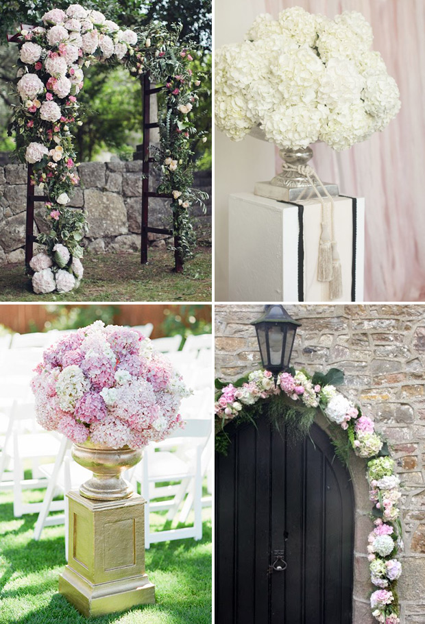 Picture Of awesome ways to incorporate hydrangeas into your wedding decor  2