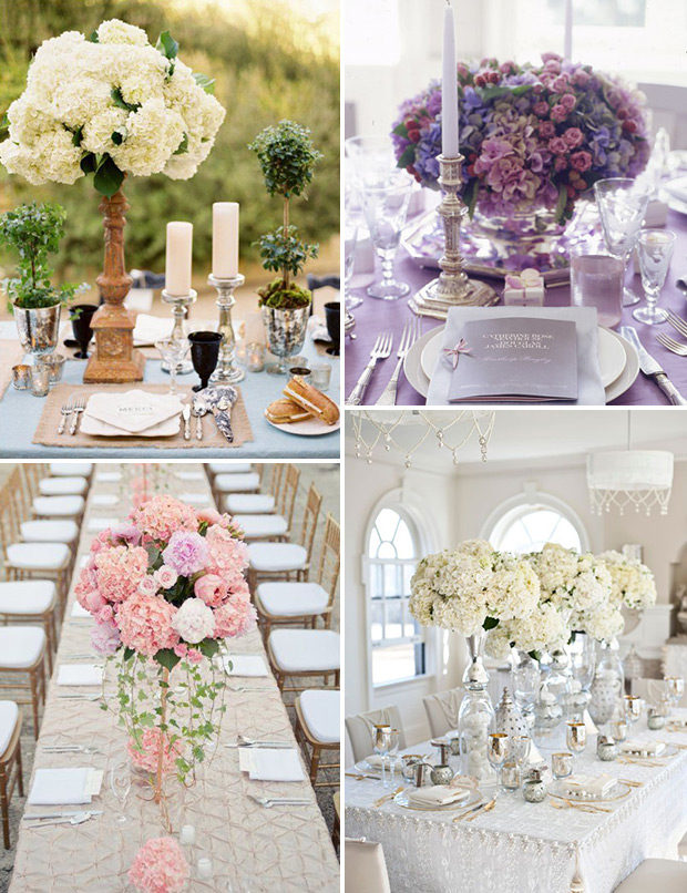 Picture Of awesome ways to incorporate hydrangeas into your wedding decor  5