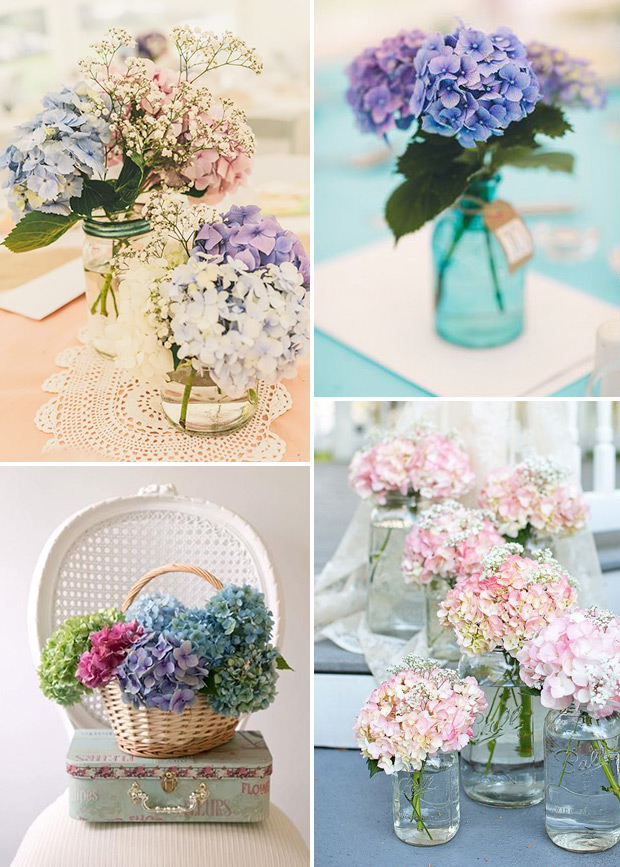 Picture Of awesome ways to incorporate hydrangeas into your wedding decor  6