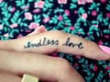 Awesome Wedding Tattoos With Words