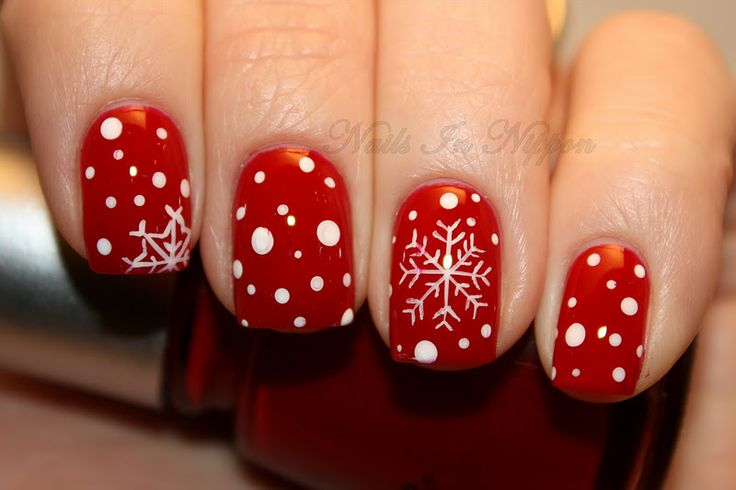 Resultado de imagen de winter nails