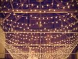 Barn Wedding Lights Ideas