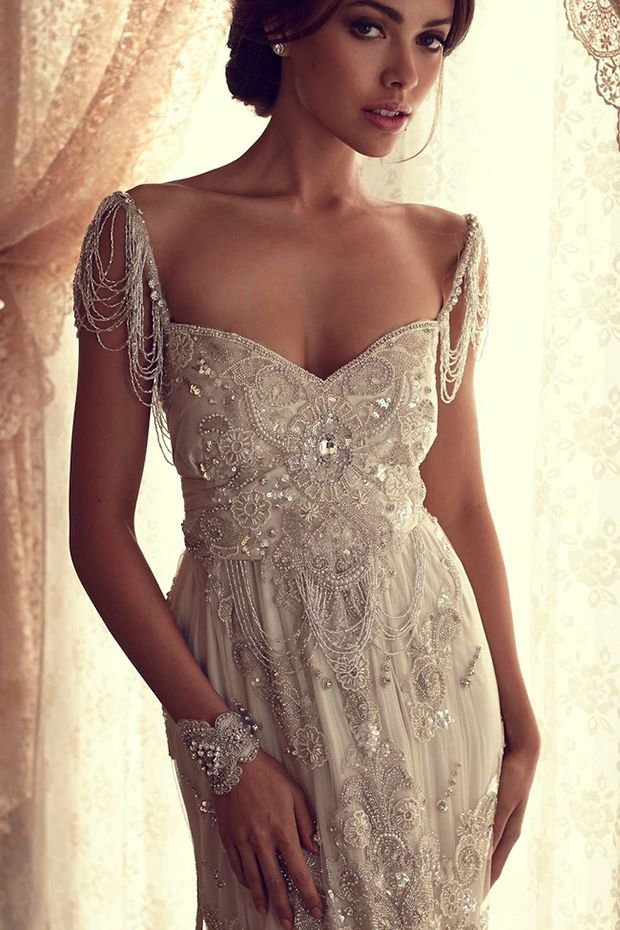 Beaded Lace Wedding Dresses